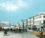 Saint-Petersburg of Alexander Pushkin