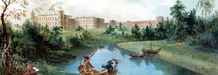 1687. Palaces and parks of the Suburbs of St.Petersburg