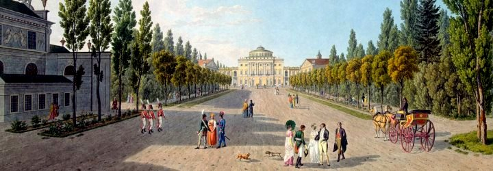 1690. Palaces and parks of the Suburbs of St.Petersburg