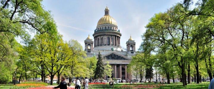 На 1 мая в Петербург