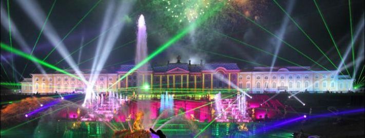 296. Закрытие фонтанов в Петергофе