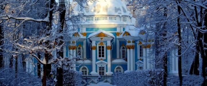 2848. Рождество в Петербурге