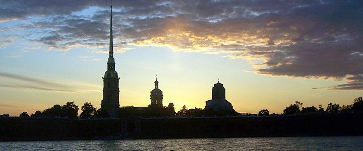 464. Обзорная + Петропавловская крепость