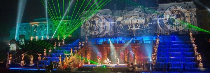 Закрытие фонтанов в Петергофе 4